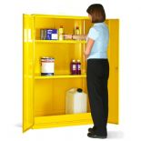 Hazardous Substance Cabinet - 2 Shelves